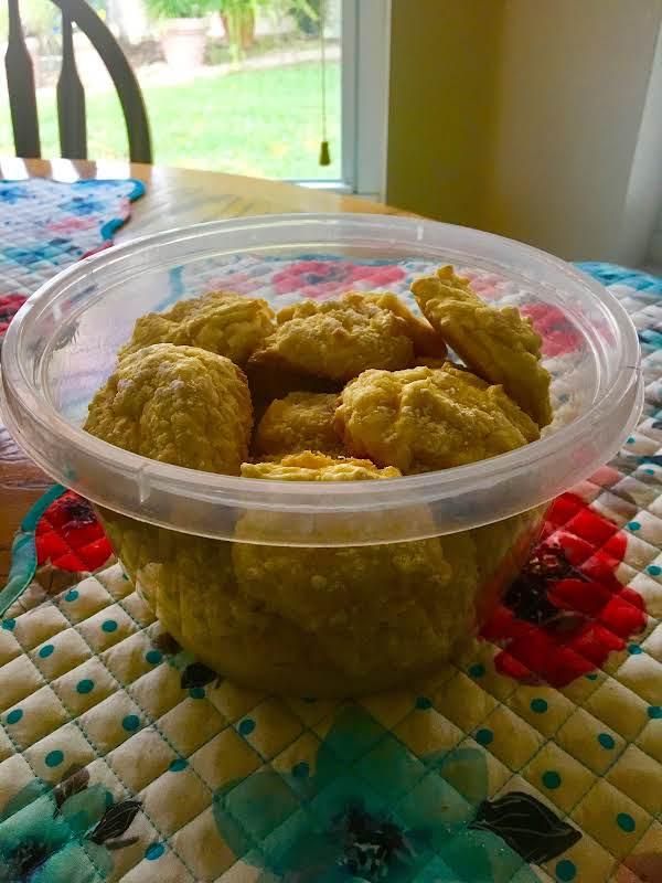 Lemon Cakemix Cookies--so Easy! Recipe