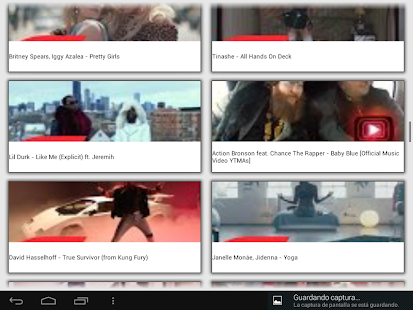 Top music videos videoclips- screenshot thumbnail