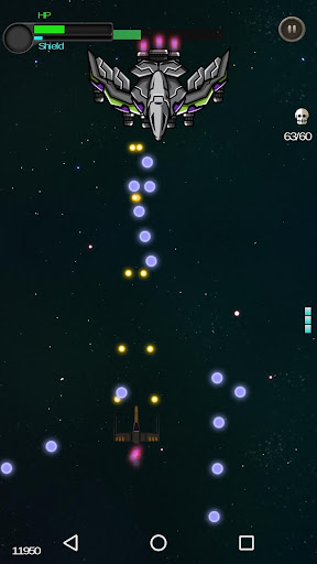Space Shooter - Galactic War  captures d'écran 5