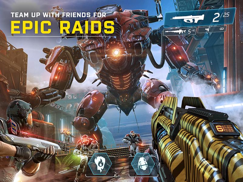 SHADOWGUN LEGENDS: Multiplayer FPS Shooting game Screenshot 10