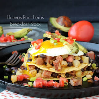 Huevos Rancheros Breakfast Stack.