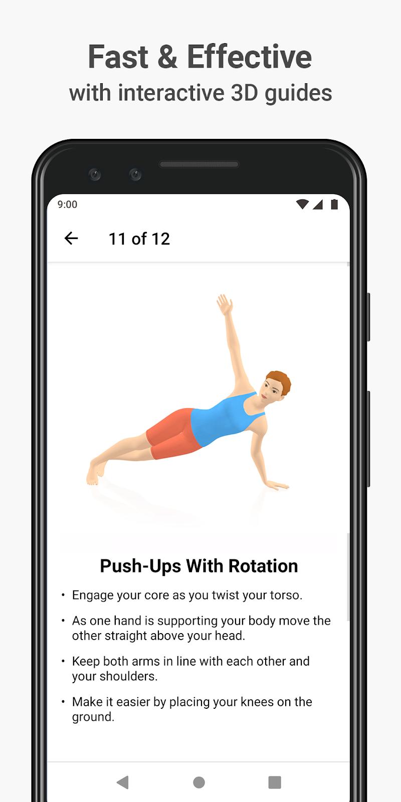 Seven - 7 Minute Workout Screenshot 1