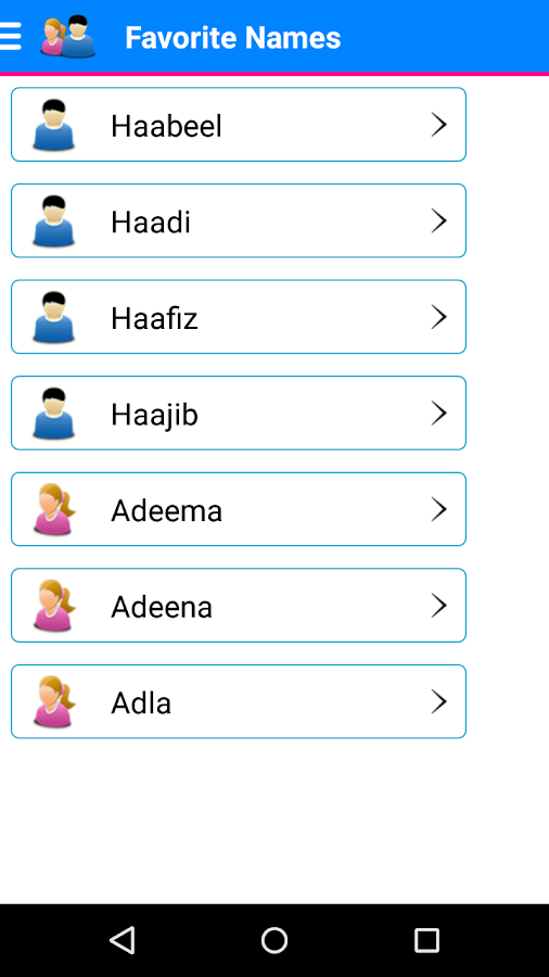 Baby Names - Muslim Names with Meaning- screenshot
