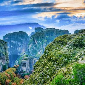 by Nikos Diavatis - Landscapes Mountains & Hills