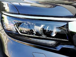 ランドクルーザープラド TRJ150W TX ガソリン グレーメタリックのカスタム事例画像 8883さんの2019年03月09日23:59の投稿