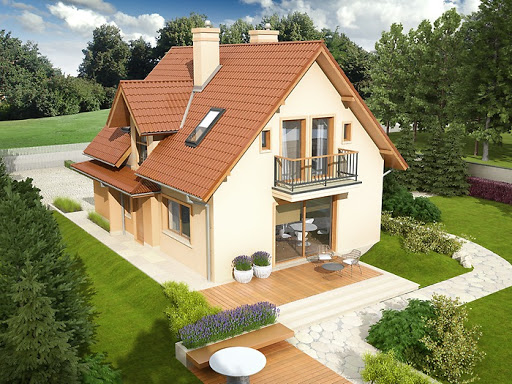 projekt Julek II G1 Leca® Dom