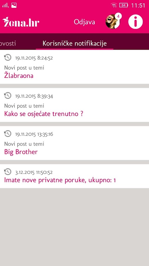Žena HR- screenshot