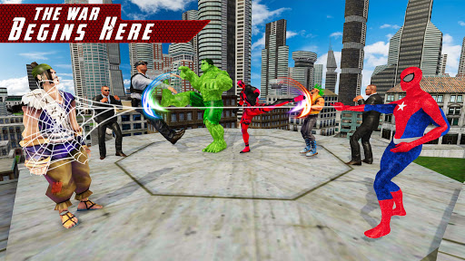 Superhero Avenger Street Fighting 2018 1.3 screenshots 7
