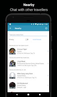 App in the Air içeren kişisel uçuş asistanınızdır Screenshot