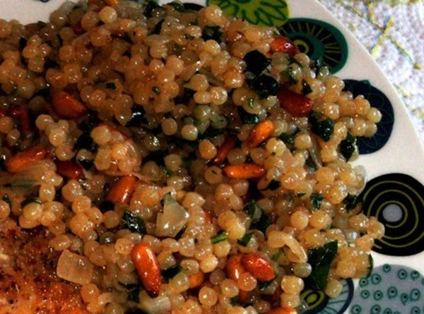 Herbed Couscous And Pine Nuts Recipe