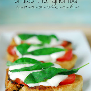 Grilled Margherita Sandwich.