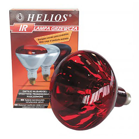 Värmelampa Helios IR Röd (150 & 250 Watt)
