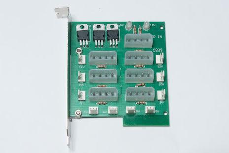 MIST Power Splitter Adapter Card