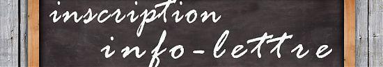 inscription info-lettre