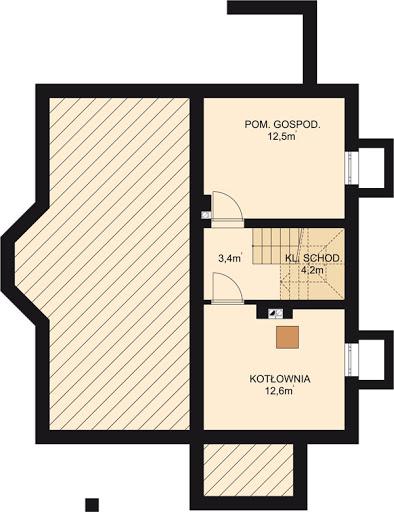 APS 208 - Rzut piwnicy