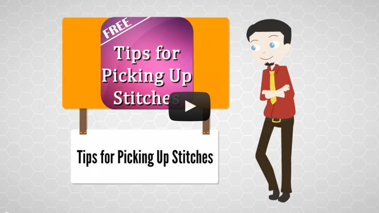 Tips for Picking up Stitches - Android Apps on Google Play