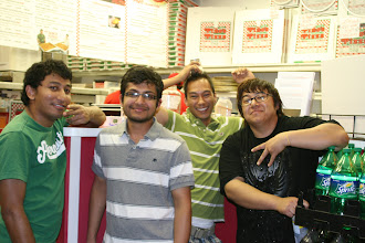 Photo: Shiva, Ujjwall, Sumner, and Arbin