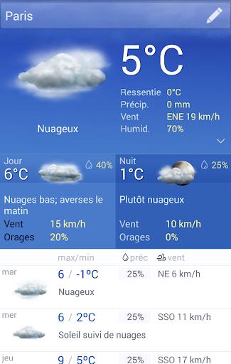 La Meteo France screenshot 1