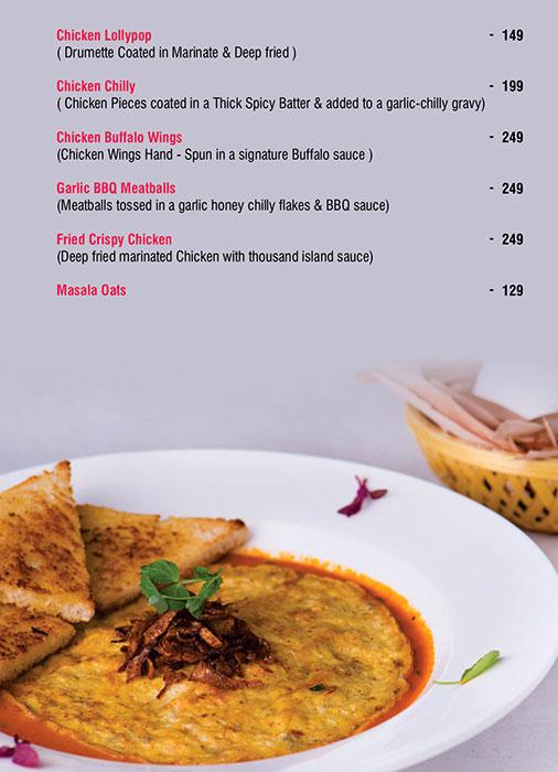 Ecstacy Bar n Eatery menu 12