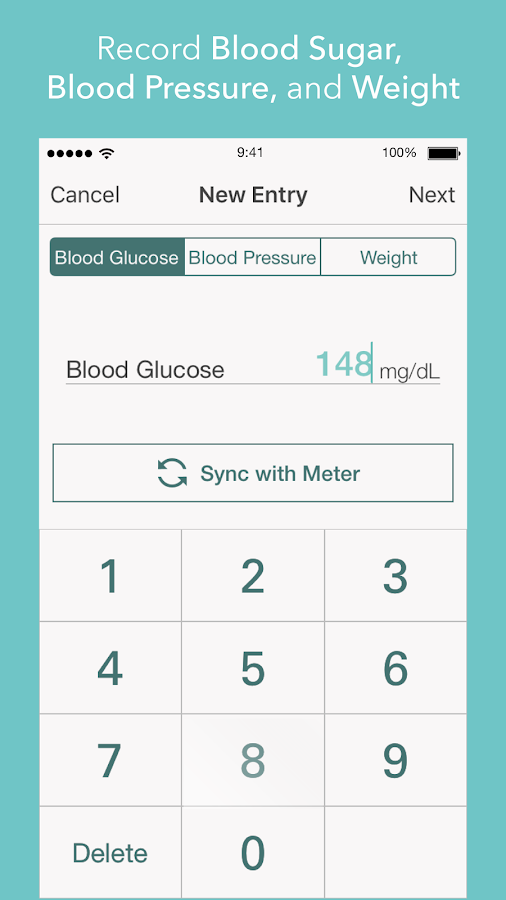 Health2Sync - Diabetes Care- screenshot