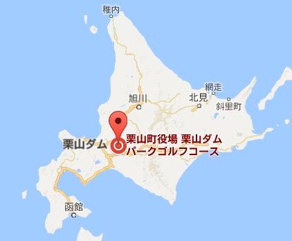 地図:栗山ダム