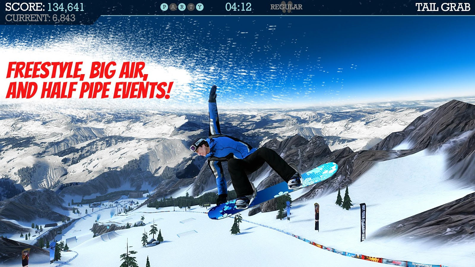 Snowboard Party- screenshot