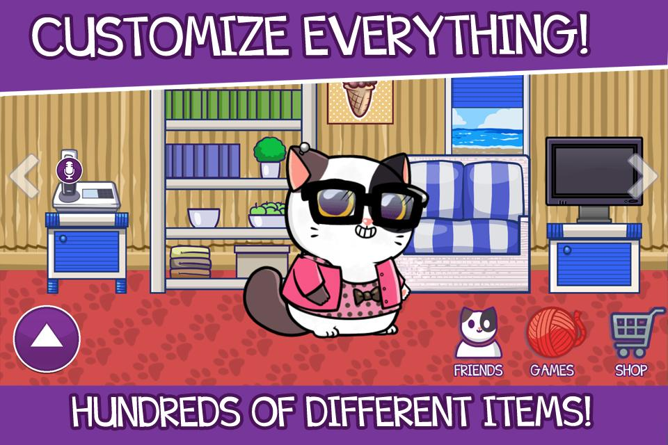 Mimitos cat - Virtual Pet- screenshot