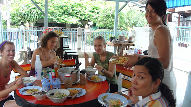 Photo: Participants of Yoga TTC during lunch time.