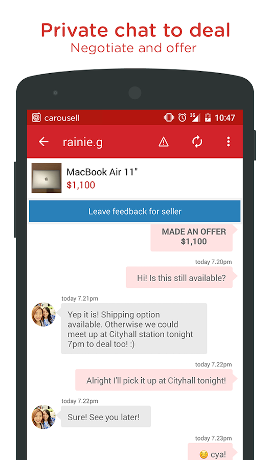 Carousell: Snap-Sell, Chat-Buy - screenshot