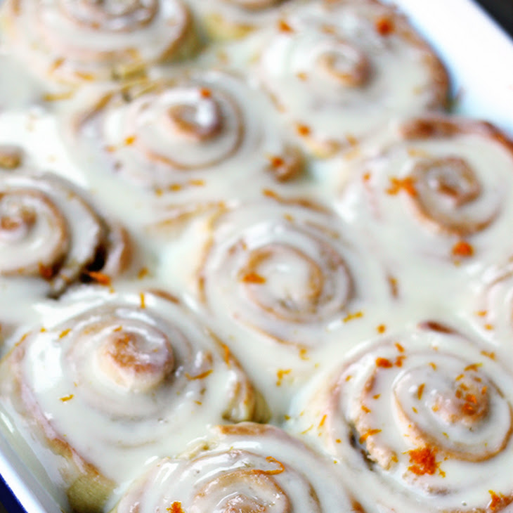 Cake Mix Orange Sweet Rolls