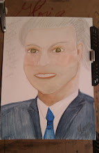 Photo: Dutch Man-ethnic-sketch-by-Gloria Poole in Missouri; Nov 2013