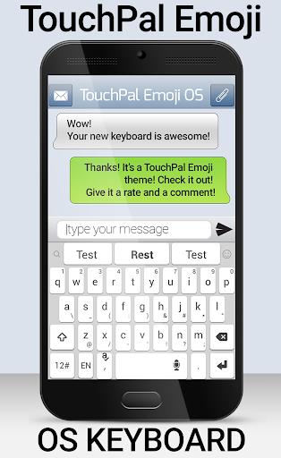 TouchPal Emoji OS Phone Theme