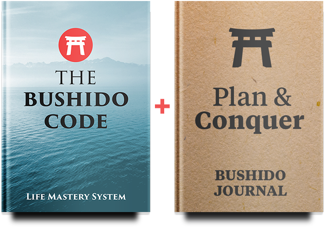 Bushido Code & Bushido Journal Ebook Covers
