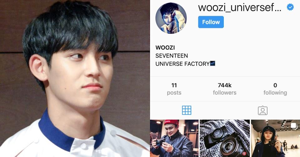 woozi instagram seventeen members