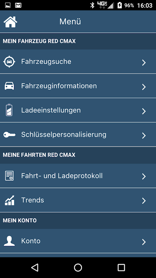 MyFord Mobile: screenshot