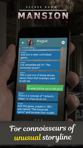 Mansion. Choices Text Adventure  screenshots 2