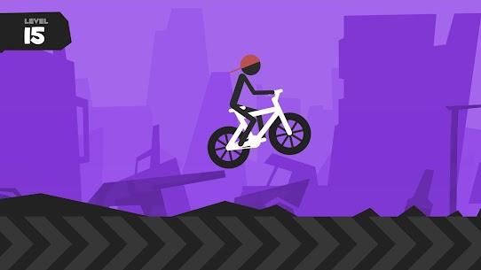 Wheelie Stickman Rider 4