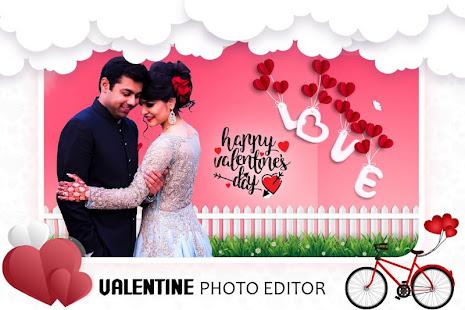 Download Valentine Photo Editor : Love Photo Frame 2020 For PC Windows and Mac apk screenshot 2