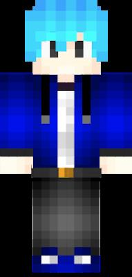 Blue Crystal by edit skin Blue Crystal