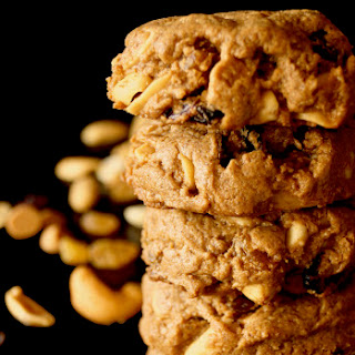 Trail Mix Peanut Butter Cookies {Gluten-Free}.