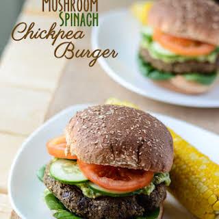 Mushroom Spinach Burgers Recipes.