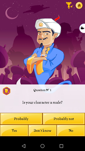 Akinator screenshot 2