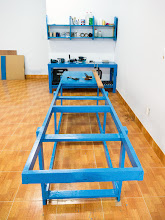 Photo: tool table & shelf, and the workbench