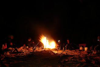 Photo: Campfire feels good