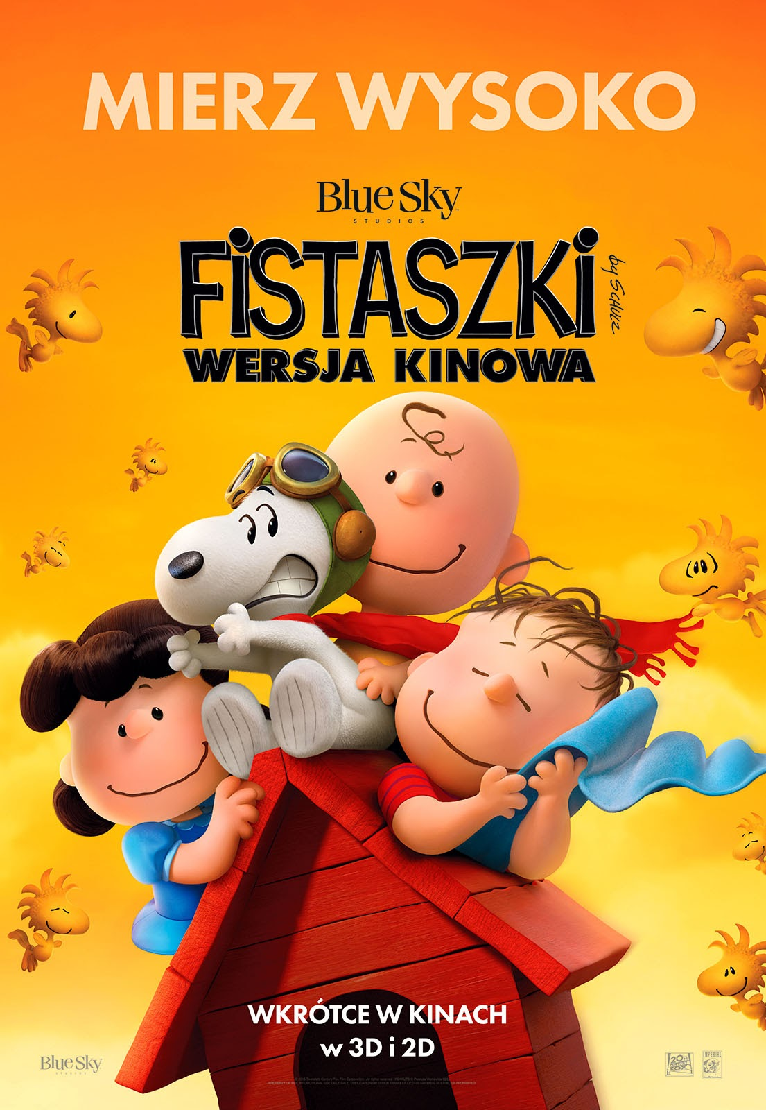 Polski plakat filmu 'Fistaszki - Wersja Kinowa'