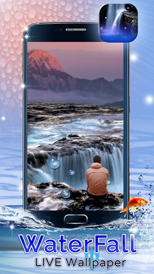 Waterfall Live Wallpaper - screenshot