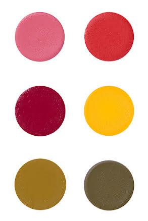 Suprasmink liten, röd/gul/grön