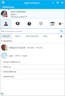 how to create new skype profile on android device