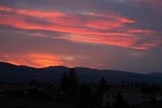 Photo: J21 : les Monts de la Madeleine depuis St Jean le Puy