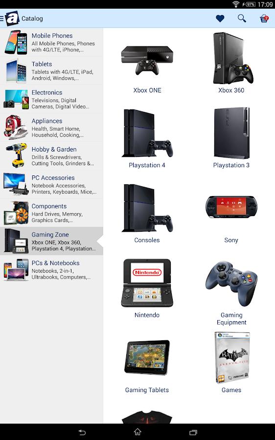 Alzashop.com- screenshot